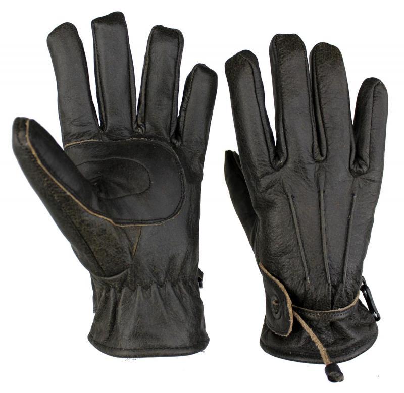 Lammleder Handschuhe Motorrad und Freizeit Braun