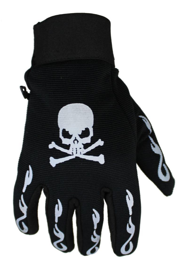 Skull Neopren Handschuhe Motorrad und Freizeit