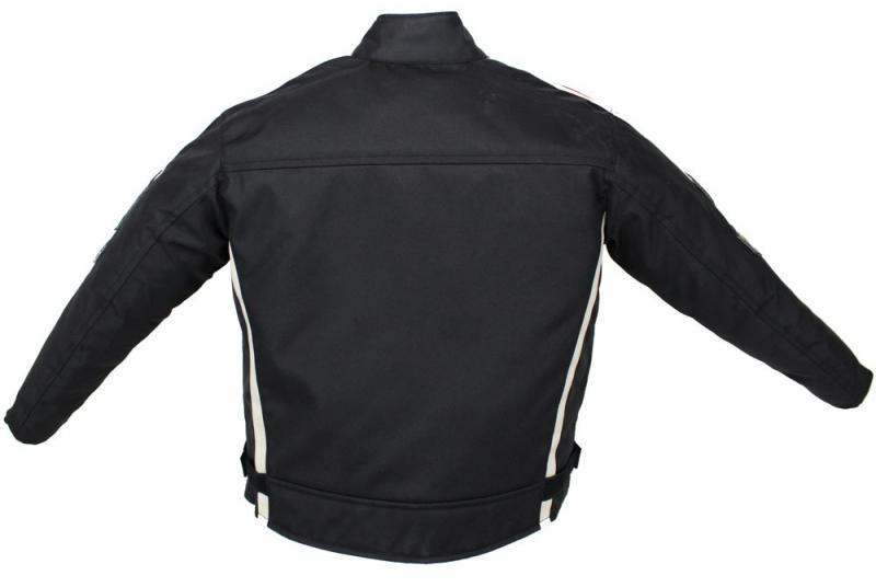 Kinder Motorrad Freizeit Biker Textil Jacke Custom Kids Jacket