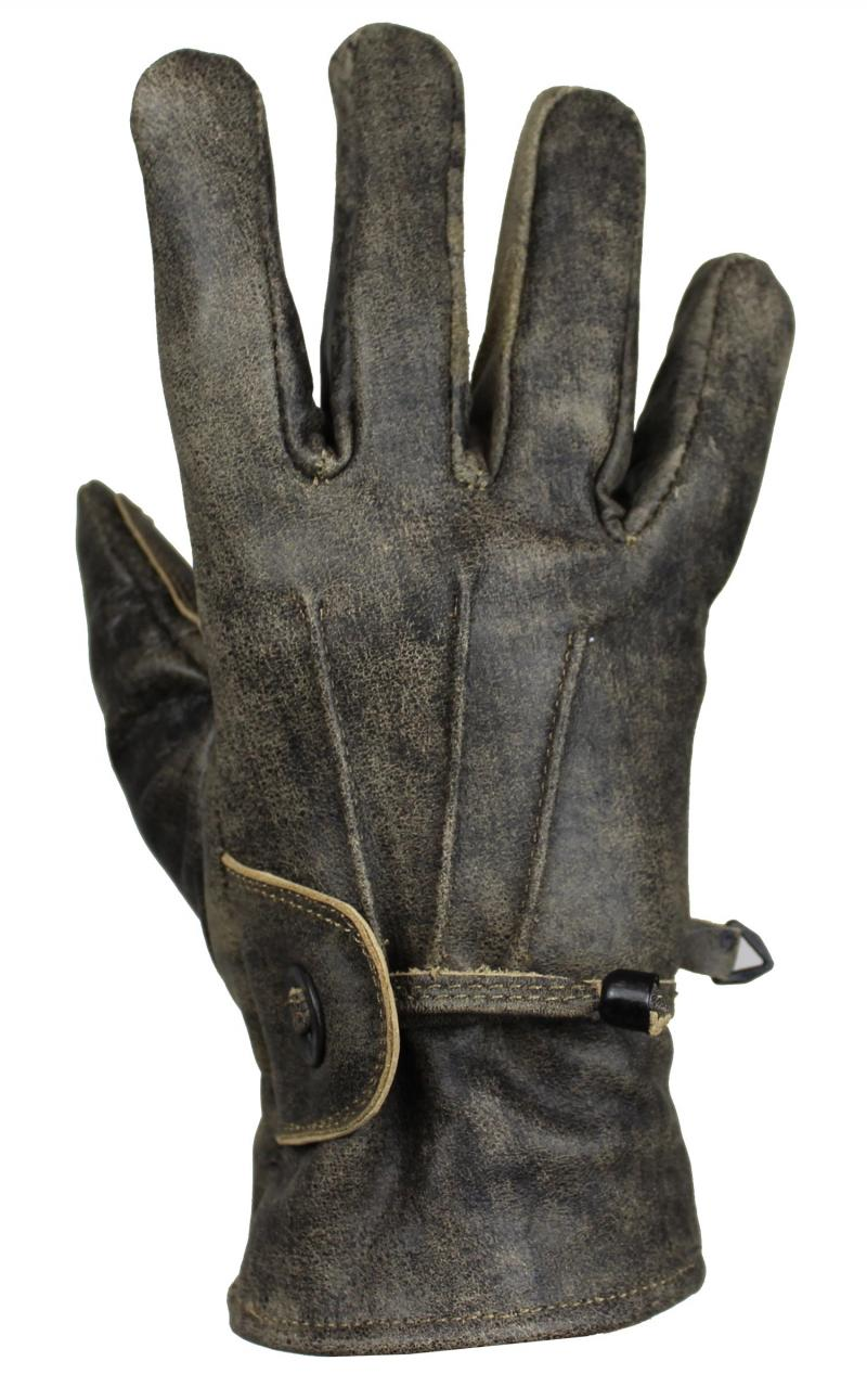 Lammleder Handschuhe Motorrad und Freizeit Cracker Braun
